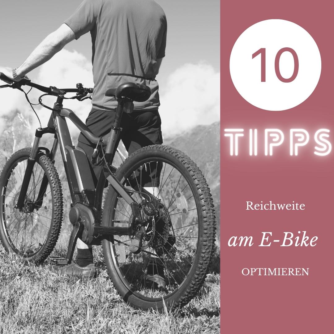 10 Tipps für mehr Reichweite mit dem E-Bike