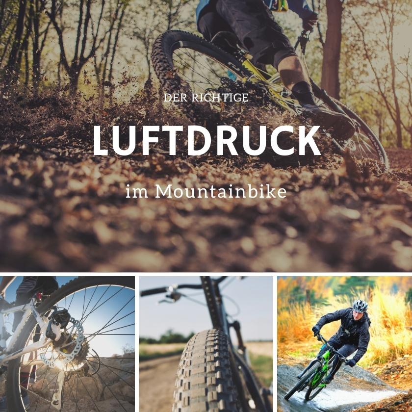 So findest du den richtigen Luftdruck für dein Mountainbike heraus