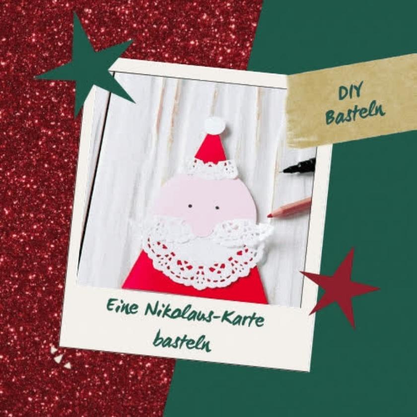 DIY So bastelst du deine eigene Weihnachtskarte