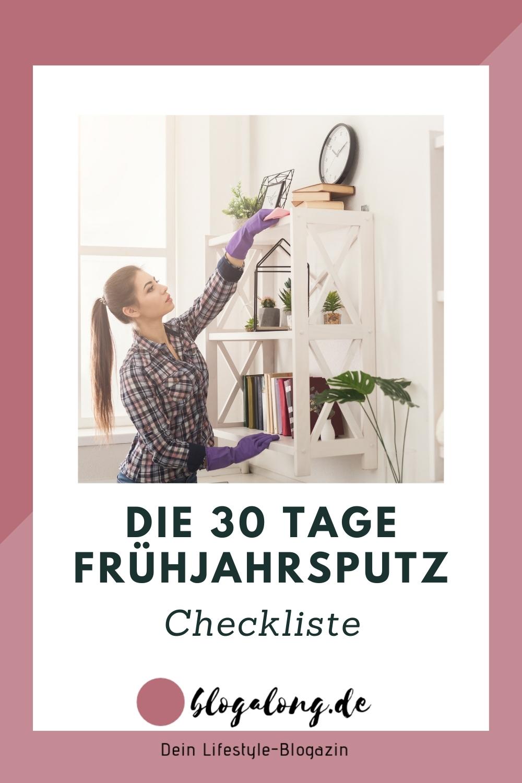 Die kostenlose Checkliste für deinen Frühjahrsputz
